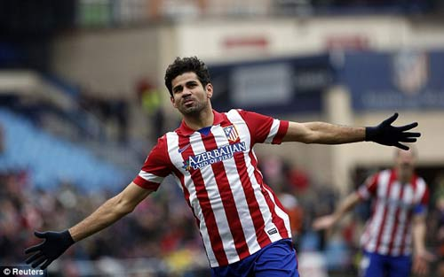 Atletico-Valladolid: Chiến thắng thần tốc - 1