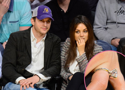 Mila Kunis mang song thai với Ashton Kutcher - 3