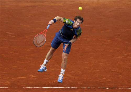 Murray - Mayer: Cân não (V2 Madrid Open) - 1