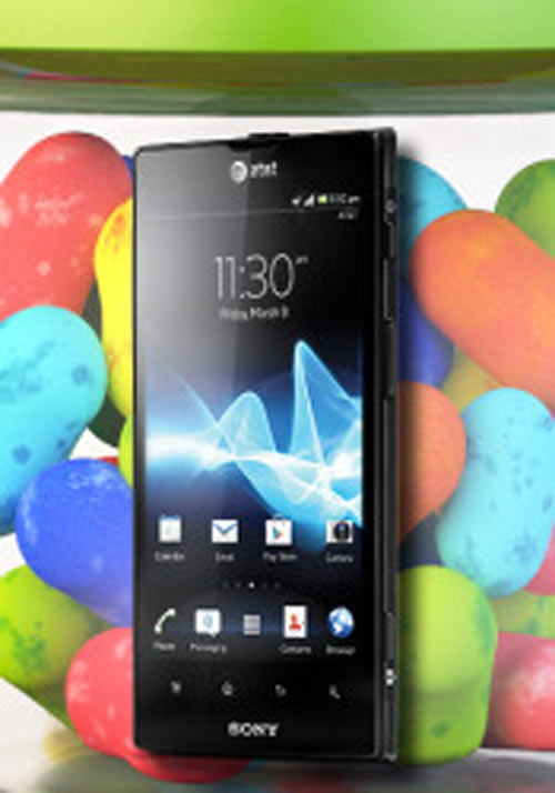 Sony Xperia ion nâng lên Android 4.1.2 Jelly Bean - 1