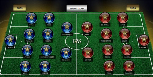 """Dream Team"" của Wilshere: CR7 kết hợp Percy - 2"
