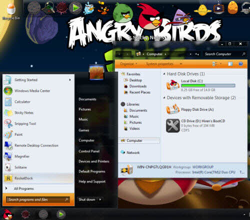 Thay giao diện Angry Birds cho Windows - 4