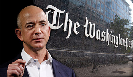 Vì sao CEO Amazon mua Washington Post? - 1