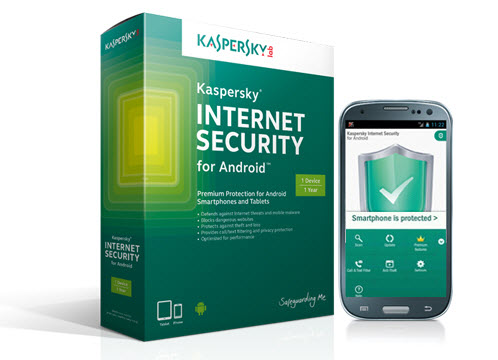 Nhanh tay sở hữu bản quyền Kaspersky Internet Security for Android - 1