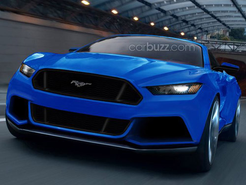 """Lộ Ford Mustang mới gây """"sốt"""" - 1"""
