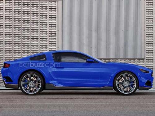 """Lộ Ford Mustang mới gây """"sốt"""" - 2"""