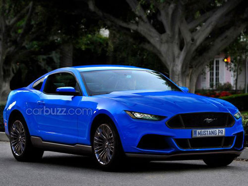 """Lộ Ford Mustang mới gây """"sốt"""" - 3"""