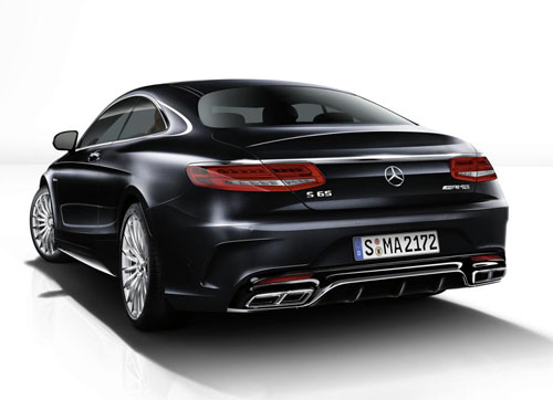Mercedes-Benz S65 AMG Coupe công bố giá - 5