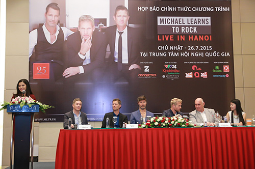 "Michael Learns To Rock bật mí sự ra đời ""25 minutes"" - 1"