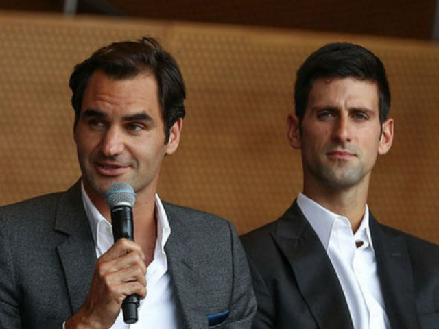 "- Federer song kiếm Djokovic: ""Dream team"" săn Laver Cup"