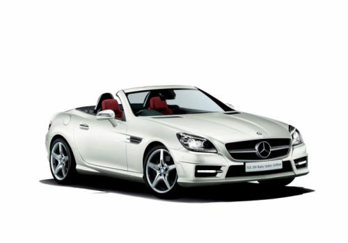 Mercedes-Benz SLK 200 Radar Safety Edition: An toàn hơn - 1