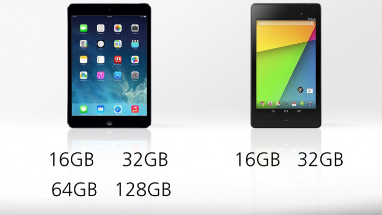 So sánh iPad Mini 2 với Nexus 7 2013 - 13
