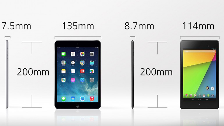 So sánh iPad Mini 2 với Nexus 7 2013 - 7
