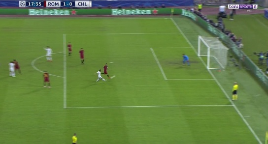 """Chi tiết AS Roma - Chelsea: Tan nát """"The Blues"""" (KT) - 3"""