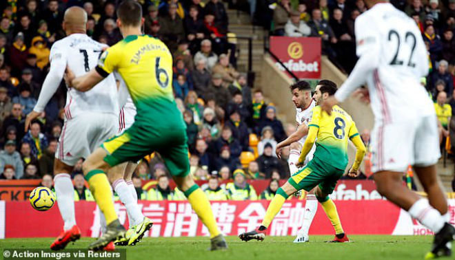 Video highlight trận Norwich City - Sheffield United: Áp sát Tottenham - Mourinho - 1